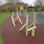 Recycled Rubberised Mulch in Abney 8