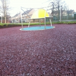 Recycled Rubberised Mulch in Abney 2