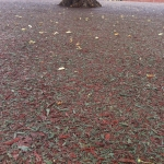 Recycled Rubberised Mulch in West Barns 3