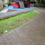 Recycled Rubberised Mulch in Abney 6