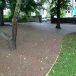 Recycled Rubberised Mulch in Abney 12