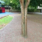 Recycled Rubberised Mulch in Abney 9