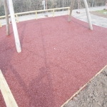 Bonded Rubberised Mulch Suppliers in Abernant 4