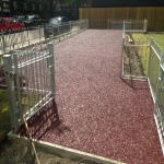 Recycled Rubberised Mulch in Abney 7
